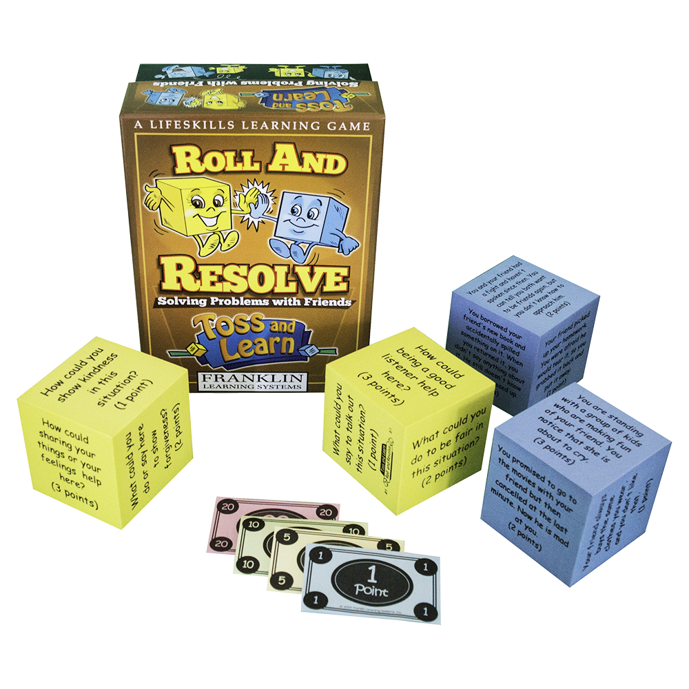 Toss and Learn: Roll and Resolve Problem Solving Friends