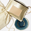 Leather Pouch & Porcelain Dish Gift Set