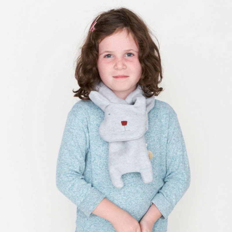 Bunny Pull-Through Scarf