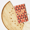 Fruit-Themed Cutting Board & Cookbook Gift Set