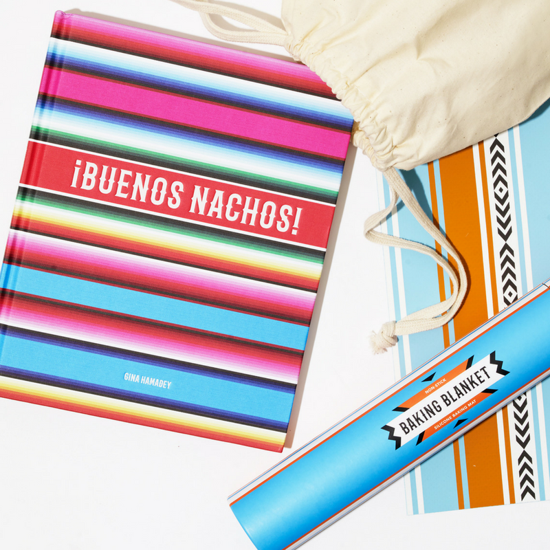 Nacho Cookbook & Baking Sheet Gift Set