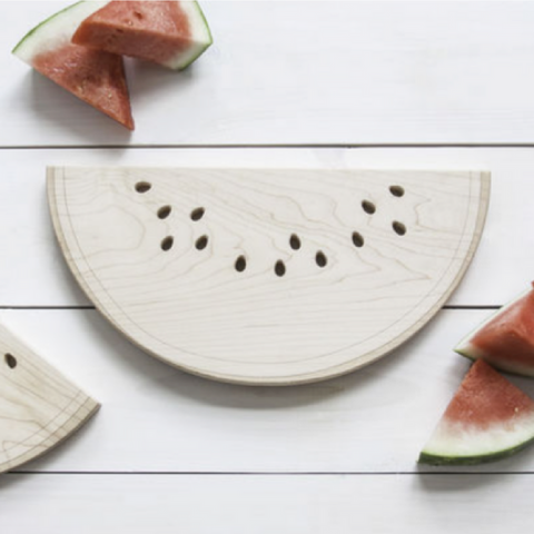 Engraved Watermelon Cutting Board