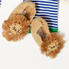 Hand-Crocheted Lion Booties