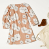 Baby Dress & Rattle Gift Set