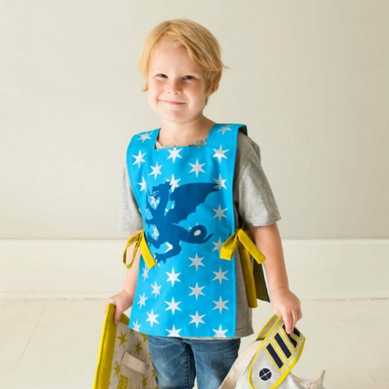 Knight-Themed Dress-Up Tunic - Gifted and Present