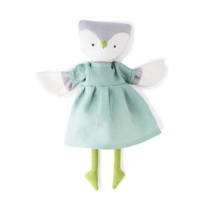 "Handmade ""Lucy the Owl"" Doll - Gifted and Present"