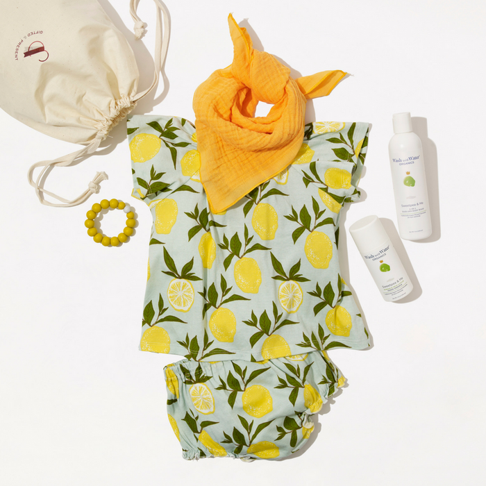 Welcome Baby Gift Set - Little Lemon - Gifted and Present