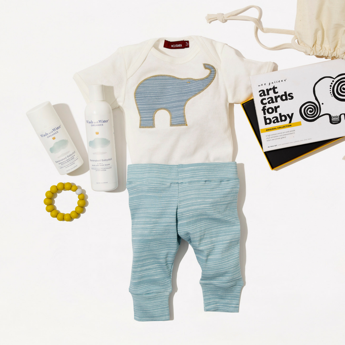 Welcome Baby Gift Set - Baby Elephant - Gifted and Present