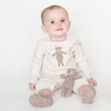 Hand-Crocheted Teddy Romper