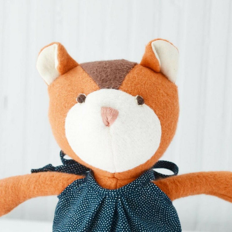 "Handmade ""Josie the Chipmunk"" Doll - Gifted and Present"