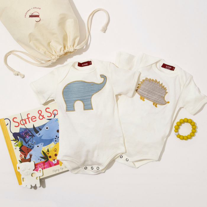 Welcome Twins Gift Set - The Love of Animals - Gifted and Present