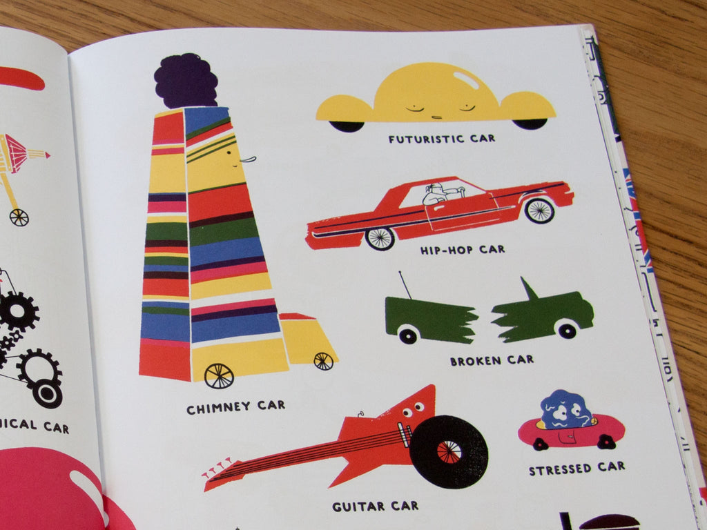 Book - All Kinds of Cars - Gifted and Present