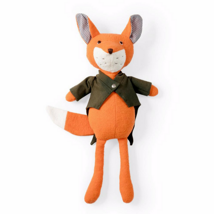 "Handmade ""Owen the Fox"" Doll - Gifted and Present"