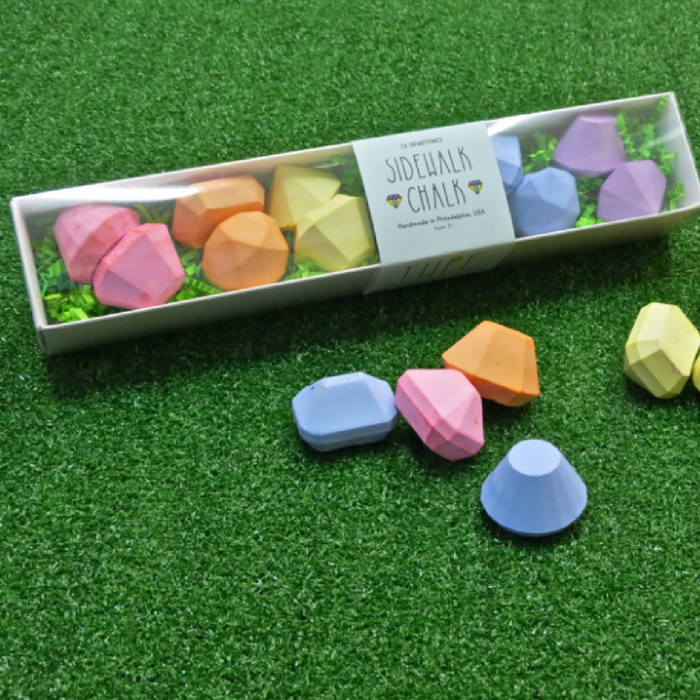 Gemstone Sidewalk Chalk Set - Gifted and Present