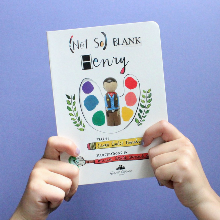 Board Book - (Not So) Blank Henry - Gifted and Present