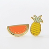 Watermelon & Pineapple Stud Earrings - Gifted and Present