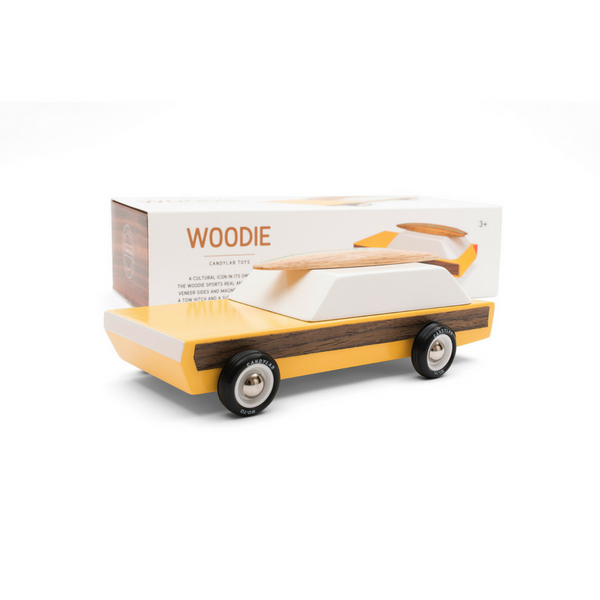 Classic Woodie Toy Car - Gifted and Present