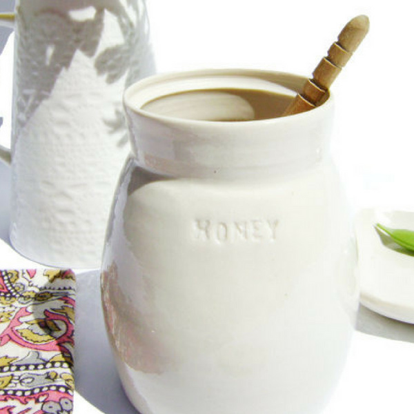 Handmade Honey Pot & Dipper - Gifted and Present