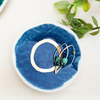 Porcelain Ring Dish/Blue - Gifted and Present