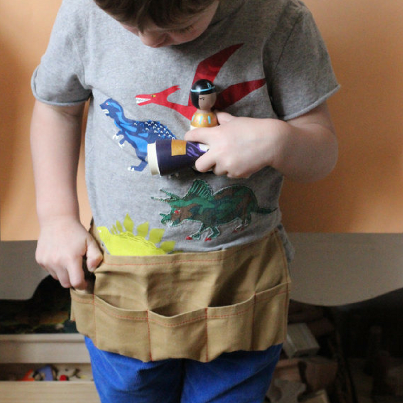 Peg Doll Tool Belt - Gifted and Present
