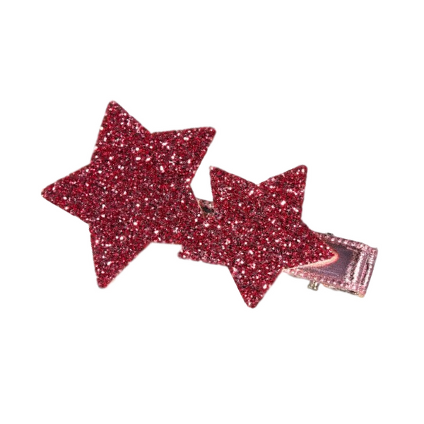 Fuchsia Star Barrette - Gifted and Present
