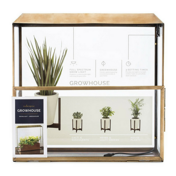 Table-Top Greenhouse with Grow Light - Gifted and Present
