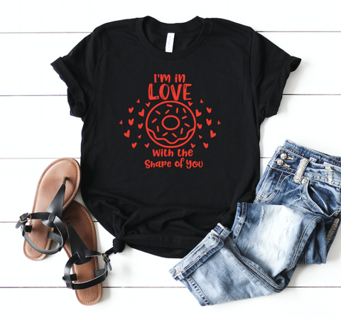 Shape of you Adult Tee