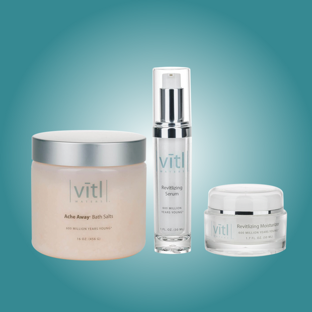 Glamour Basket - FREE Vitl Waters® Bath Salts