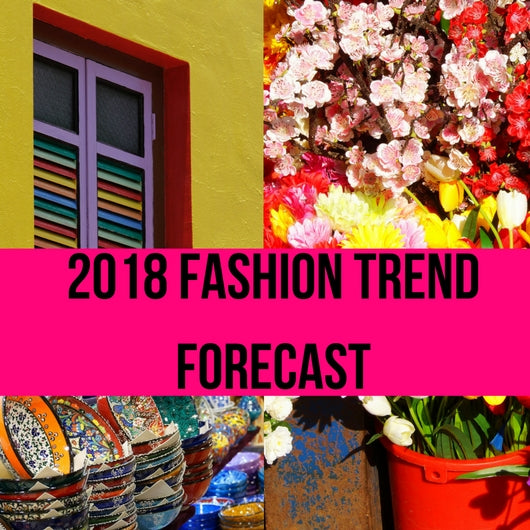 2018 Spring Color Trends