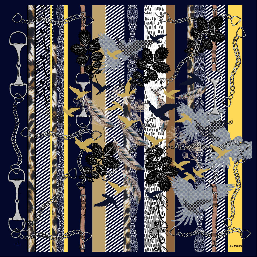 7552 - Lily Mulin Double Side Print
