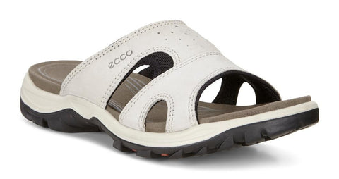 ECCO Women's Offroad Lite Slide, Gravel/Black