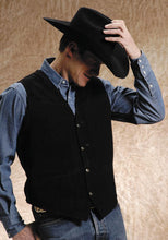 Load image into Gallery viewer, Roper Mens Suede  W/Buckle Tie Vest