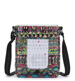 Sakroots Women's Artist Circle Small Flap Messenger Radiant One World