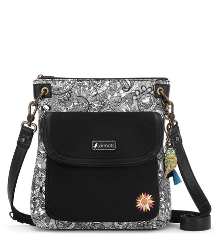 Sakroots Women's Artist Circle Flap Crossbody