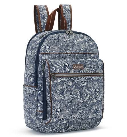 Sakroots Women's Artist Circle Cargo Backpack Navy Spirit Desert