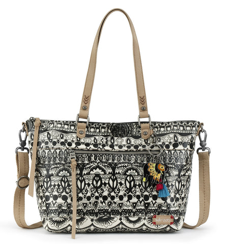 Sakroots Women's Artist Circle City Satchel