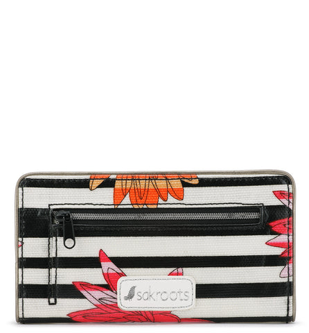 Sakroots Women's Artist Circle Slim Wallet