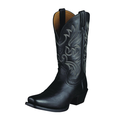 Ariat Men's Legend Boot Black Deertan