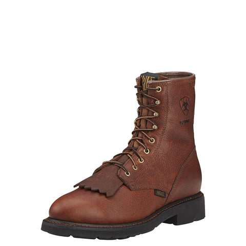 "Ariat Men's Cascade 8"" H2O Boot - Brown"
