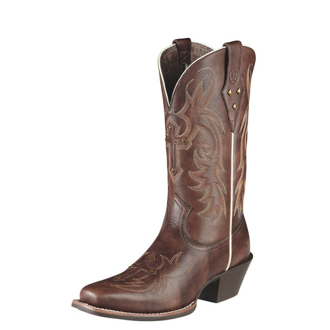 Ariat Women's Legend Spirit Boot Yukon Brown