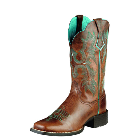 Ariat Women's Tombstone Boot Sassy Brown