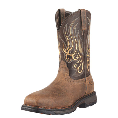 Ariat Men's Workhog Mesteno Comp Toe Boot Earth