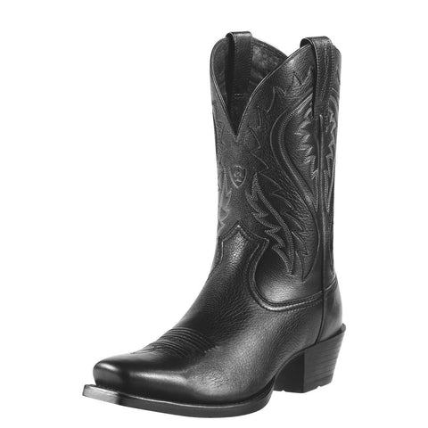 Ariat Men's Legend Phoenix Boot Black Deertan