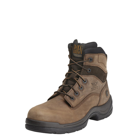 "Ariat Men's FlexPro® 6"" SD Comp Toe Boot - Brown"