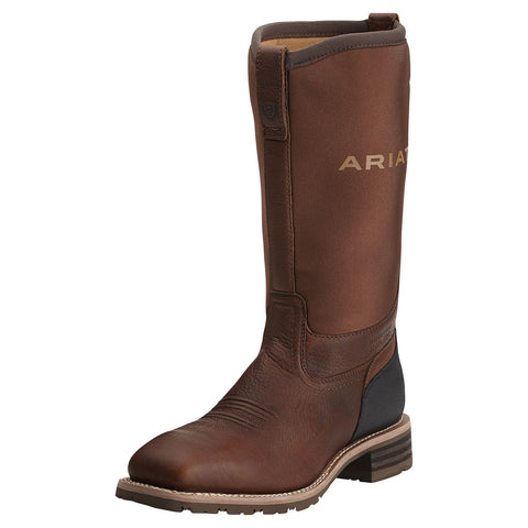 Ariat Men's Hybrid All Weather St Boot Oiled Brown