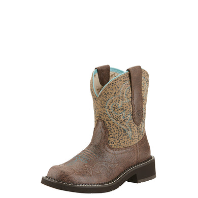 Ariat Women's Fatbaby Heritage Harmony Boot Crackled Bay