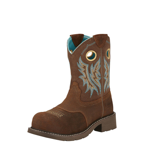 Ariat Women's Fatbaby Cowgirl Composite Toe Boot Fireside