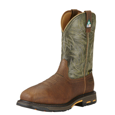 Ariat Men's WorkHog® Wide Square Toe Metguard CSA Comp Toe Boot - Brown