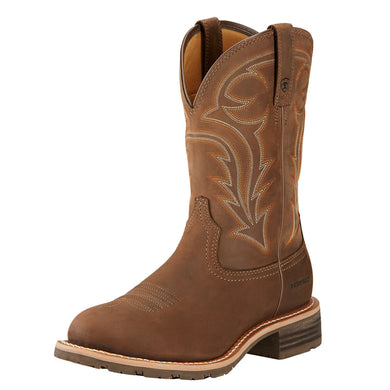 Ariat Men's Hybrid Rancher H2O Boot Distressed Brown