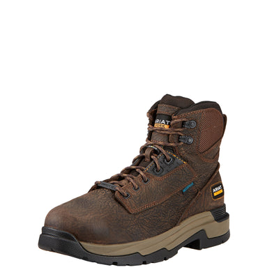 "Ariat Men's MasterGrip™ 6"" Metguard H2O Comp Toe Boot - Brown"